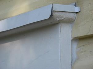 Roof Eave Edge Improvised as Window Flashing
