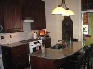 Recently updated kitchen :: redo Lauraville Baltimore