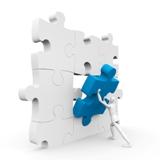 Building Moxie's puzzle piece man image