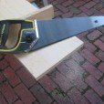 used new Stanley handsaw with interchangeable blades