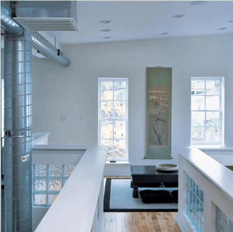 loft in converted Ridgely's Delight Baltimore warehouse
