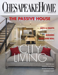 August 2010 Cover of Chesapeake Home Magazine