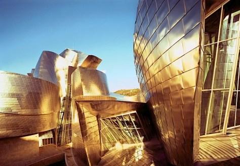 Guggenheim Museum in Bilbao by Frank Gehry image via Ana M. Manzo