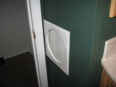 laundry chute door master bath