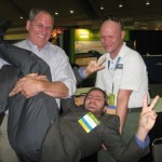 fun photo Michael Anschel Carl Seville Sean Lintow at the 2010 Remodeling Show