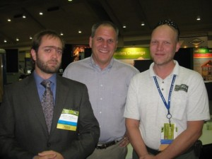 Michael Anschel Carl Seville Sean Lintow at the 2010 Remodeling Show