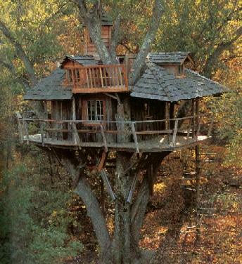 grand treehouse image via Paul Lesieur source :: Remodel Crazy