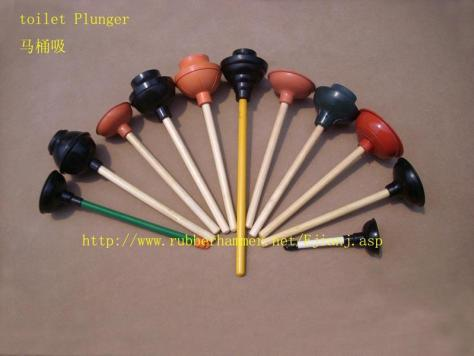 An Array of Plungers in a Colorful Fan via busytrade.com