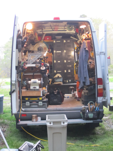 Sprinter Work Van at Day by Barry Morgan