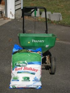 Scotts Turfbuilder with Crabgrass Preventer