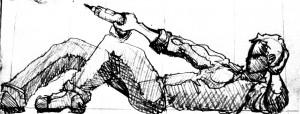 Crawlspace Pose #1 - The Emperor