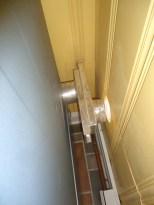 Telescoped Close Quarters Dryer Vent Aligned