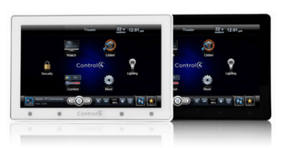 Control 4 App Panel ipad (Source Control4)
