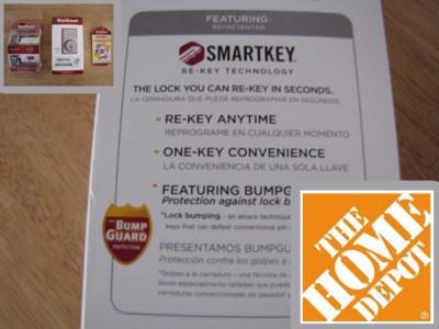 Home Depot & Kwikset SmartKey