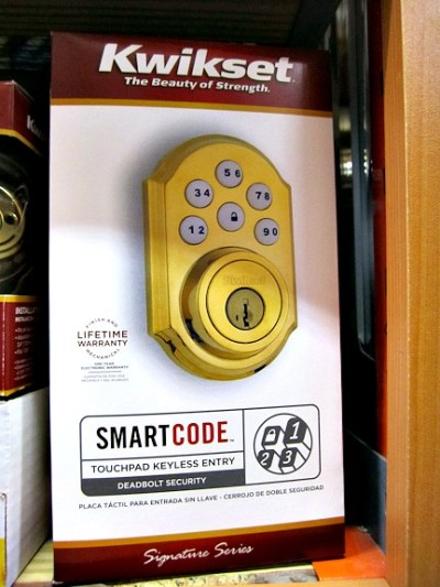Kwikset Touchpad Keyless Entry