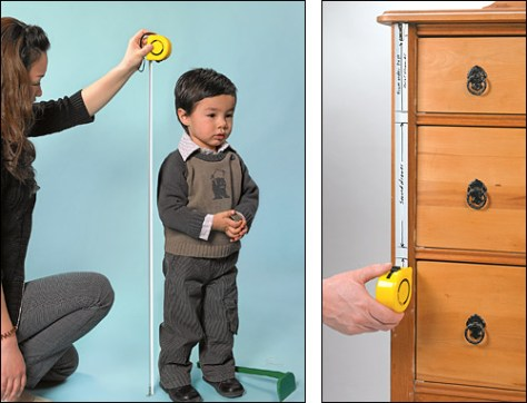 Lee Valley Story Tape Toddler and Chest of Drawers via Lee Valley