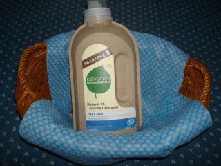 Eco-Friendly Laundry Detergent Bottle