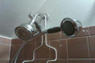 Low-flow shower heads