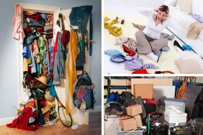 cluttered home collage via Joe Eitel