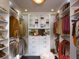 White Astoria Walk in Closet