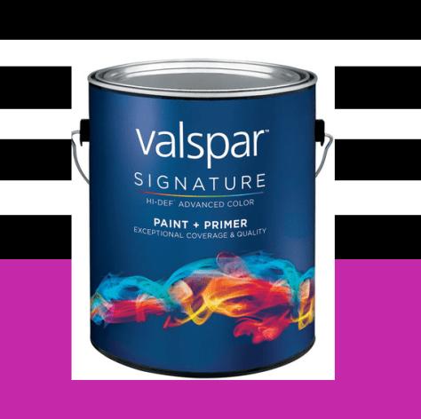 DIY Summer Decorating Ideas :: Valspar Signature Paint
