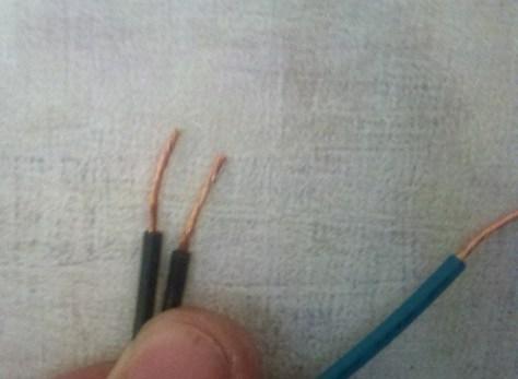 black wire to black wire