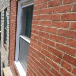 Window in Brick Recapped with Aluminum