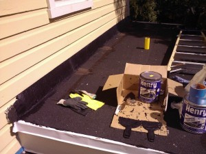 Fall DIY :: Roof Flashing Repair with Henry FlashMaster