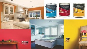 paint montage featuring Clark + Kensington via Canton Ace Hardware
