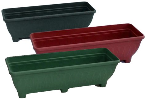 Troughs Gardenxtras For Building a Green Wall