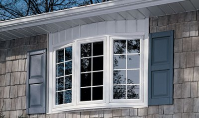 Types of Windows :: example - Bow Window
