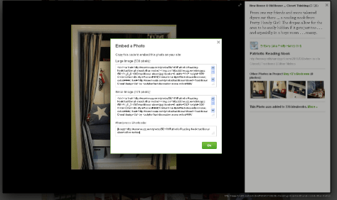 Houzz Embed a Photo Feature