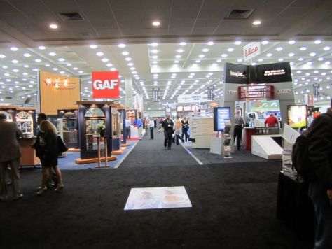 Remodeling Show Floor Entrance