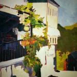 Vaffanculo an Oil Painting by Elizabeth CB Marsh