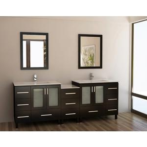 Bathroom Vanity Combos :: Modern Double Vanity Combo