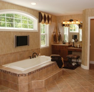 Reasons to Remodel :: Tiled Bathroom