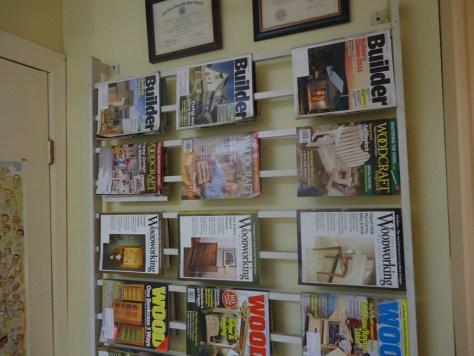 reading area at Beths DIY Workshop