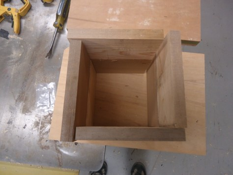 top view of box weave
