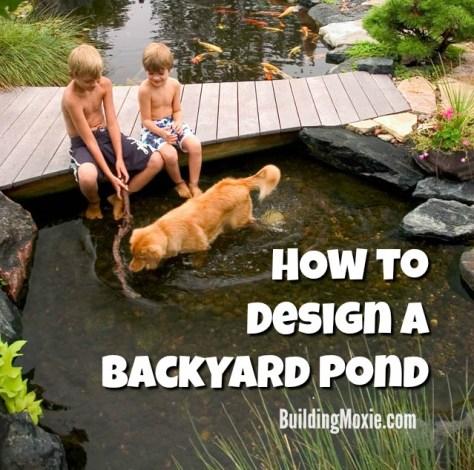 How to Design Backyard Pond