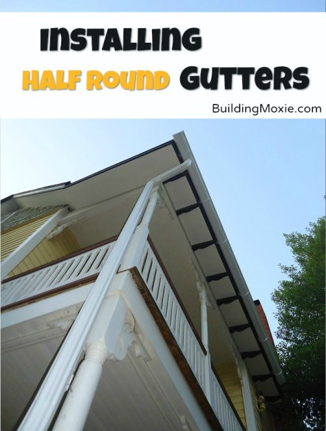 Installing Half Round Gutters
