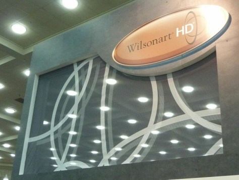 Wilsonart HD booth
