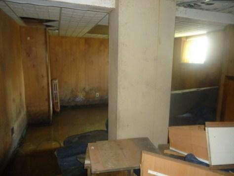 basement lolly column before