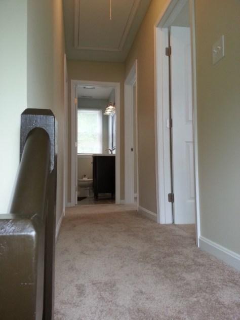 up stairs hallway