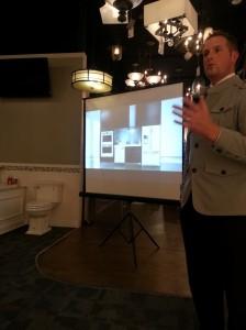 Jason Tippetts presenting Whirlpool Ice