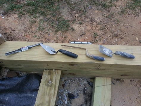 masonry tools for repointing
