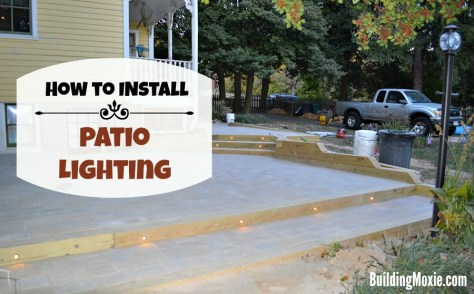 How to Install Patio Lighting