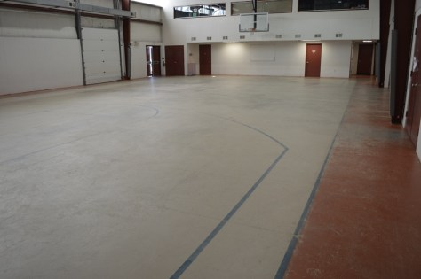 4200sf basketball court