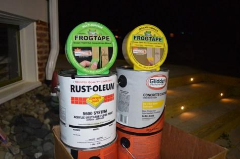Rustoleum-Concrete-Saver-Glidden-Concrete-Coatings-FrogTape