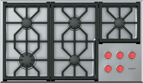 Wolf New Generation gas cooktop