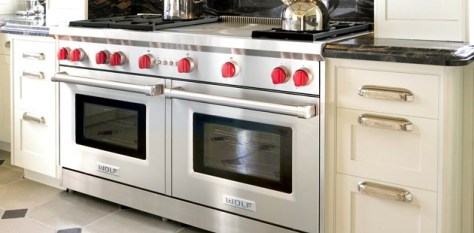 Wolf 60in gas range